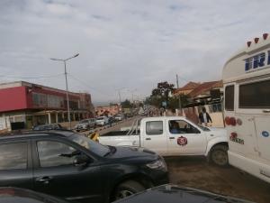 Lubango. Trânsito