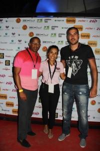 O pessoal do Lubango em Força no Show Raça Negra e Yola Semedo no Cine Kalunga Benguela. Bruno Space Painel de Debates. Foto por Hill do Foto o fotografo da noite e das celebridades
