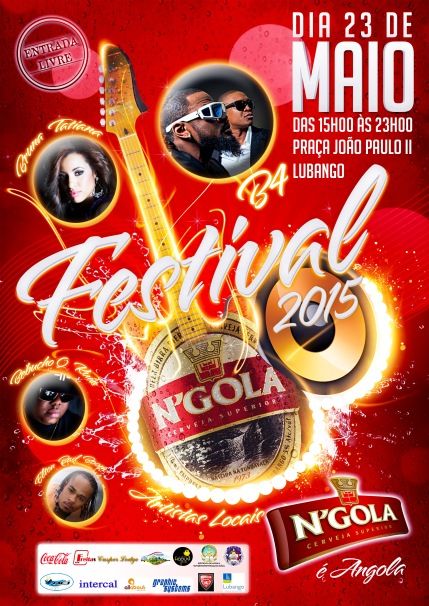 CARTAZ FESTIVAL N'GOLA 2015