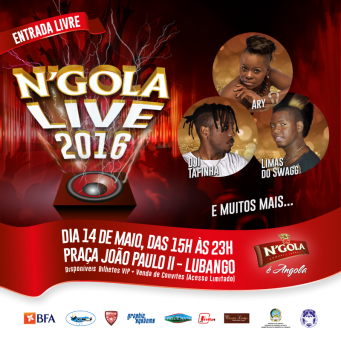 FESTIVAL NGOLA N'GOLA LIVE 2016